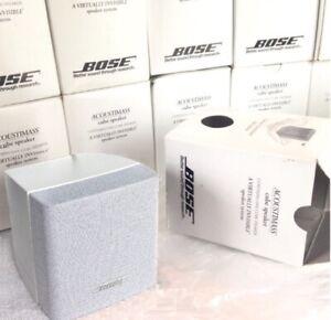 Bose FreeSpace 3 New in Box (Single Cube Speaker) White Acoustimass Lifestyle