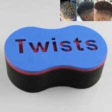 Mens Wave Hair Twist Sponge Curly Barber Brush for Dread Lock Africa Locs 2017