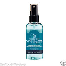Body Shop ~ PEPPERMINT ~ Cooling Refreshing & Reviving Foot Spray ~ 100ml