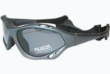 G&G Polarized Sunglasses Sport Water Surfing SUP Kite Gun Frame Gray Lens