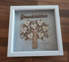 Personalised Family Tree Frame Mum MAM Nana Birthday Mothers Day Present Gift