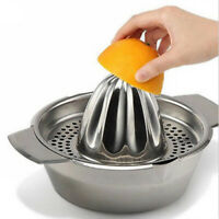 Stainless Steel Juicer Lemon Lime Orange Fruit Squeezer Hand Press Tool Kitchen