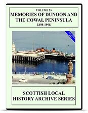 DVD Memories of Dunoon and the Cowal Peninsula 1898-1998  Scottish Film Archive