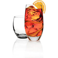 Anchor Hocking Reality Glass 16-Piece Glassware Set Juice Tea Drinking Glasses