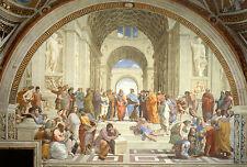 Impression encadrée RAPHAEL-L'école d'Athènes (photo PEINTRE Artiste Italien Art)