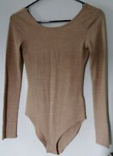 FOREVER 21 NUDE BODYSUIT LADIES SIZE SMALL
