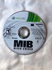 Men in Black: Alien Crisis (Microsoft Xbox 360, 2012) Disc Only