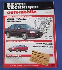 Revue technique  RTA 515 Opel vectra essence