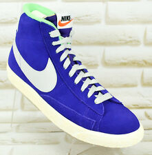 NIKE BLAZER MID PRM Vintage Purple Suede Mens Shoes Trainers Size 7.5 UK 42 EU