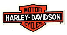 "GENUINE HARLEY DAVIDSON 4"" LONG BAR AND SHIELD OUTSIDE WINDOW DECAL STICKER!"