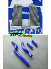 Yamaha Aluminum radiator&hose YZ250 YZ 250 1996-2001 1997 1998 1999 2000 2stroke