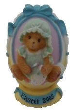 CHERISHED TEDDIES  EASTER EGG 2005 - Embossed - Abbey Press - Dated & Retired