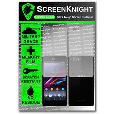 ScreenKnight Sony Xperia Z1 Compact FULL BODY SCREEN PROTECTOR invisible shield