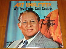 ART LINKLETTER - WE LOVE YOU, CALL COLLECT - RARE SEALED LP ! ! ! !