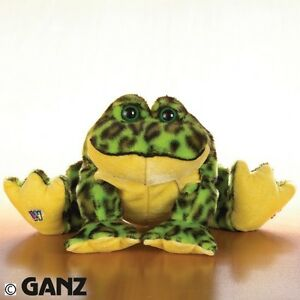Ganz Webkinz BULL FROG  NO CODE Stuffed Animal PLUSH