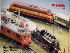 Catalogo MARKLIN Export Models 1987-88 - DEU ENG FRA - Tr.10