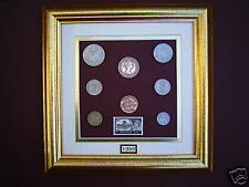 FRAMED 1959 COIN SET 59th  BIRTHDAY / ANNIVERSARY GIFT IN 2018