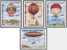 Timbres Ballons Comores PA193/6 ** lot 24120