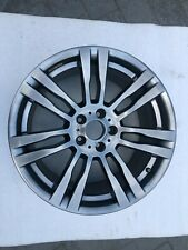 GENUINE BMW X5 X6 M SPORT 20 INCH FRONT ALLOY WHEEL 7842183-13 GREY FREE P+P