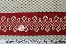 """/""""SPIRIT OF CHRISTMAS/"""" COTTON QUILT FABRIC BY THE YARD MARCUS FABRICS 4515-0154"""