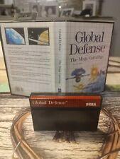 Sega Master System - Global Defense TOP