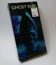 Ghost Ship VHS, 2002 Supernatural Horror Movie 60's Mid Century Modern Style