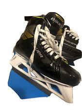 bauer supreme 3S Goalie Skates Size 8D