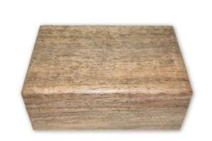 Natural Wooden Box- Tarot Cards, Crystals, Altar Supplies, Healing, Meditation,