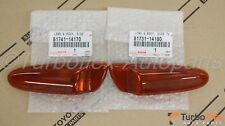 Toyota Supra 93-98 Celica 00-05 JDM Dark Amber Bumper Side Marker Lights Set
