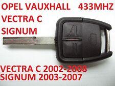 OPEL VAUXHALL VECTRA C SIGNUM REMOTE KEY FOB KEY 433 mhz