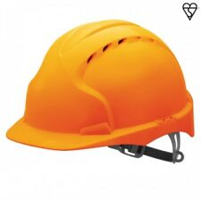 JSP arancione EVO2 CASCO versione MID Peak Comfort Elmetto Casco di sicurezza antiscivolo a cricchetto