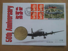1999 50th Anniversary of Berlin Airlift medallion cover