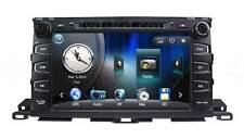2015 Toyota Highlander Car DVD player Radio GPS Navigation Stereo Head units TV