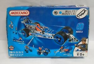 Meccano Multimodels 6520 Construction Kit Boxed With Manual