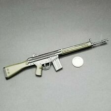 "1:6 Ultimate Soldier Green HK G3 Rifle 12"" GI Joe Dragon BBI SWAT Police GSG9"