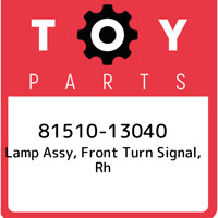 81510-13040 Toyota Lamp assy, front turn signal, rh 8151013040, New Genuine OEM