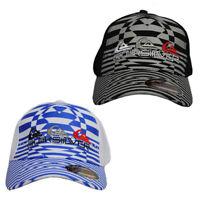 NWT Quiksilver Men's Ball Sport Cap/Hat S/M Size FlexFit Black/White Great Gift