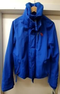 mens abercrombie and fitch blue jacket size  m CG C25