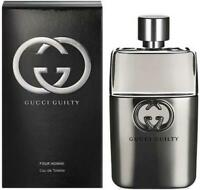 90ml Gucci Guilty Eau de Toilette for Men Perfume Hombre Descatalogado 3 oz