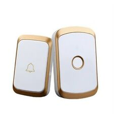 UK Remote Waterproof LED Home Wireless Doorbell 36 Songs Chime Door Bell 300M