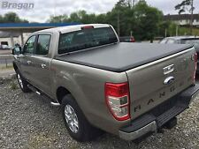 To Fit 06-12 Ford Ranger Tri Folding Soft Tonneau Bed Canopy Cover 4x4 Non Drill