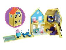 Peppa Pig deluxe playhouse  Play house with Peppa Figure accessories Age 3+