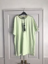 Ilsarto Milano Lime Green Oversized T Shirt Dress Size Small,  New With Tags