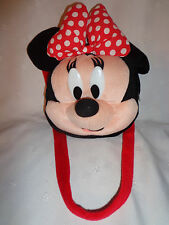"Minnie Mouse Purse Handbag 10"" Head 13"" Strap Plush Soft Toy Stuffed Animal"
