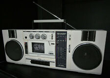 SHARP GF-7300HW Radiorecorder, Stereo, Vintage, Kofferradio, TOP Zustand