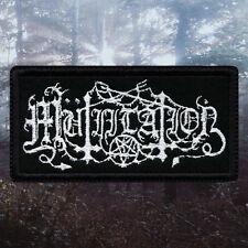 Mütiilation / Mutiilation   Embroidered Patch   France   French Black Metal Band