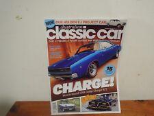 AUSTRALIAN CLASSIC CAR MAGAZINE NO211 68 DODGE CHARGER BATMOBILE TRIUMPH HERALD
