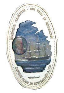 elf Zambia 1,000 Kwacha 2000  Captain Cook Ship