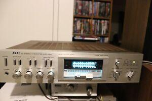 Restored Akai AMU-04 Integrated Amplifier