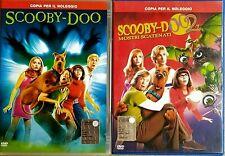 SERTA FAMILY - SCOOBY-DOO + SCOOBY-DO MOSTRI SCATENATI  2 DVD EX NOLEGGIO WARNER